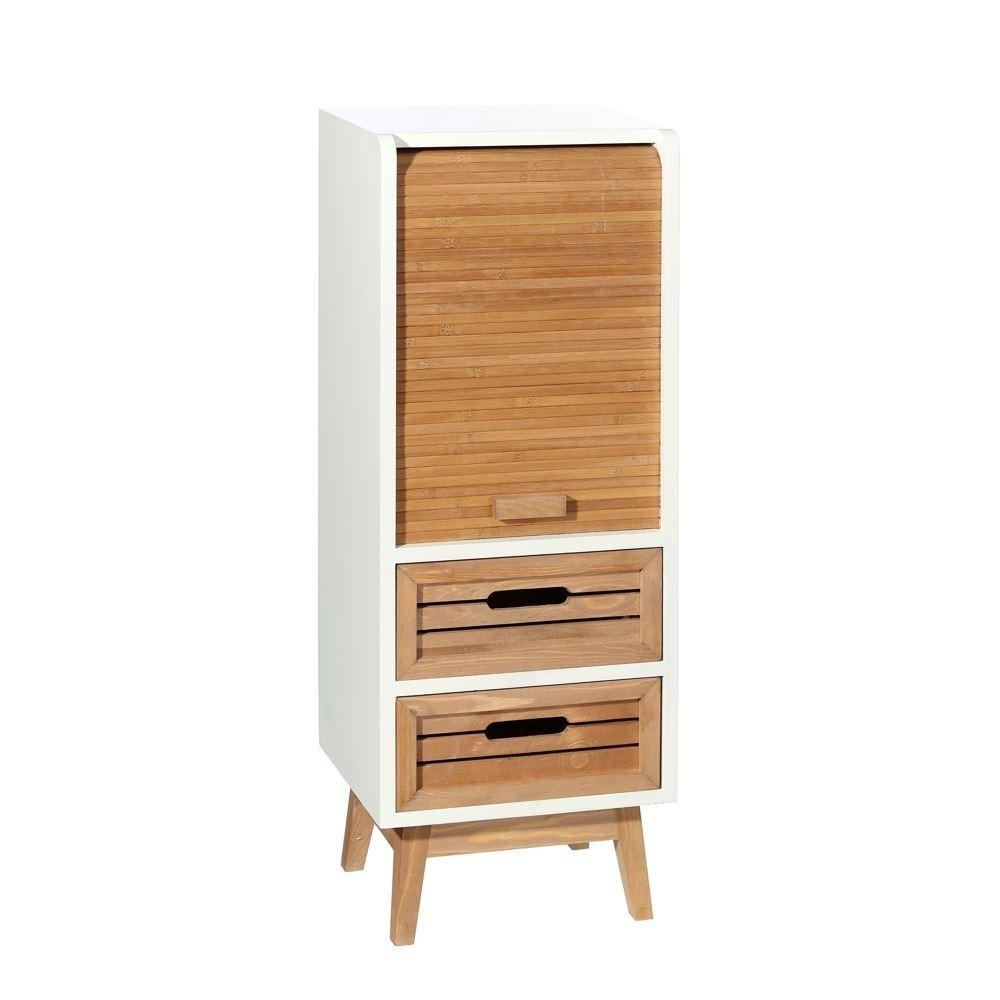 Mueble auxiliar blanco natural for Mueble auxiliar barcelona